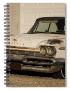 Old Desoto In Sepia Spiral Notebook
