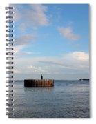 Old Docks Of Gasparilla Spiral Notebook