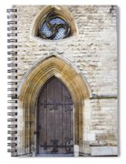 Old Door And Window York Spiral Notebook