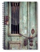 Old Door Detail Spiral Notebook