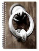 old Door Knocker Spiral Notebook