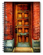 Old Door Spiral Notebook