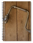 Old Drill Spiral Notebook