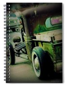 Old Drive Spiral Notebook