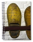 Old Dutch Wooden Shoes Spiral Notebook