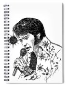 Old Elvis Spiral Notebook