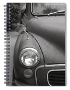 Old English Car Spiral Notebook