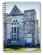 Old English Congregational Church Spiral Notebook