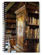 Old English Library Spiral Notebook