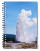 Old Faithful Spiral Notebook