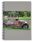 Old Faithful Spiral Notebook