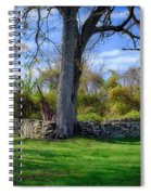 Old Family Plot In Cromwell Valley Park Spiral Notebook