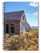 Old Farm House Widtsoe Utah Ghost Town Spiral Notebook