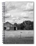 Old Farm Scene Spiral Notebook