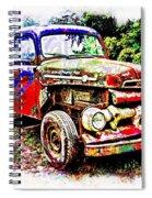 Old Farm Truck Spiral Notebook