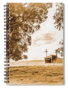 Old Farmstead Shack Spiral Notebook