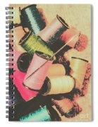 Old Fashion Threads Spiral Notebook