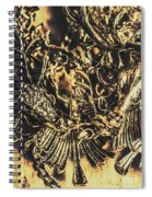 Old-fashioned Deer Jewellery Spiral Notebook