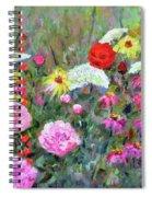 Old Fashioned Garden Spiral Notebook