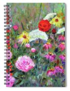 Old Fashioned Garden Spiral Notebook