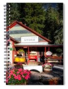Old Fashioned General Store Spiral Notebook