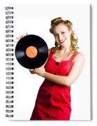 Old Fashioned Music Spiral Notebook