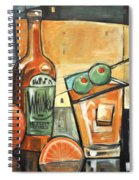 Old Fashioned Sweet With Olives Spiral Notebook