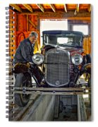 Old Fashioned Tlc Spiral Notebook