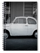 Old Fiat On The Streets Of Florence Spiral Notebook