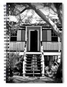 Old Florida Cottage Spiral Notebook