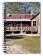 Old Florida Cracker Home Spiral Notebook