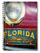 Old Florida Spiral Notebook