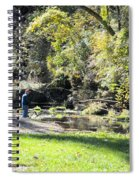 Old Fly Fisherman Spiral Notebook