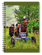Old Ford Tractor Spiral Notebook