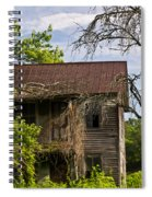 Old Forgotten Farm House Spiral Notebook