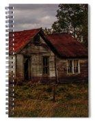 Old Forgotten Farmstead Spiral Notebook