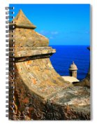 Old Fort Puerto Rico Spiral Notebook