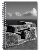 Old Fort Steps 2 Spiral Notebook