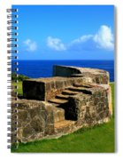 Old Fort Steps Spiral Notebook