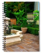 Old Fountain Spiral Notebook