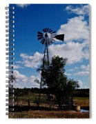 Windmill Color  Spiral Notebook