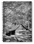 Old Frontier Cabin  Spiral Notebook