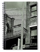 Old Fulton And Water Streets 2 Spiral Notebook