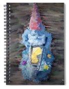 Old Garden Gnome Spiral Notebook