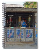 Old Gas Station Spiral Notebook