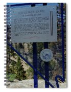 Old Geiger Grade Nevada Spiral Notebook