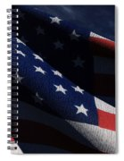 Old Glory 2 Spiral Notebook