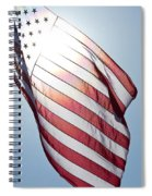 Old Glory - Long May She Wave Spiral Notebook