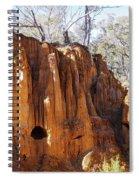 Old Gold Mine Shafts Spiral Notebook
