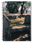 Old Grave  Spiral Notebook